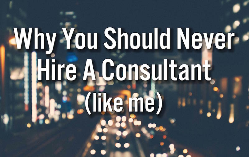 Vision Blog Hire A Consultant